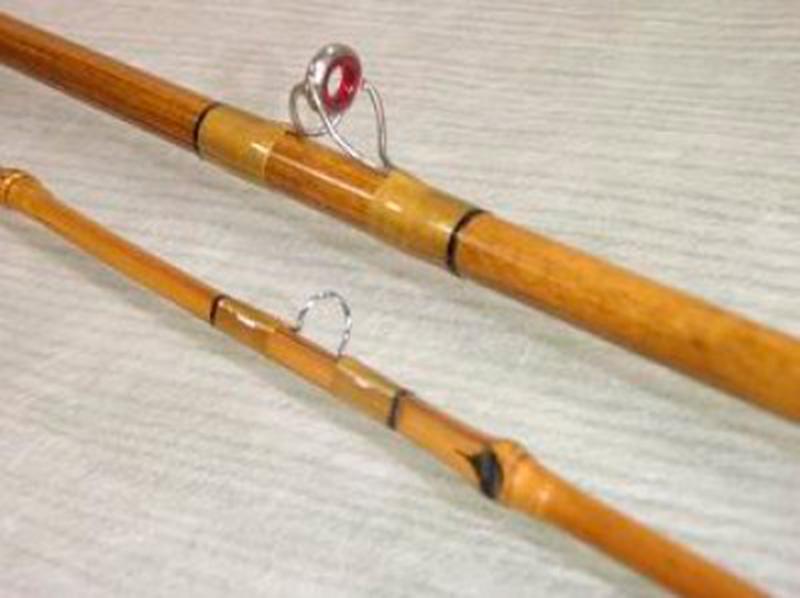 Как сделать удочку из бамбука