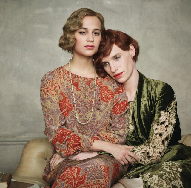 "Eddie Redmayne (Right) with Alicia Vikander in  ""The Danish Girl"""