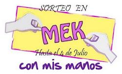 Sorteo en Mek (:!