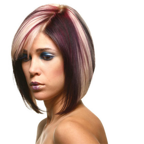 Original Long Bob Haircut And Color