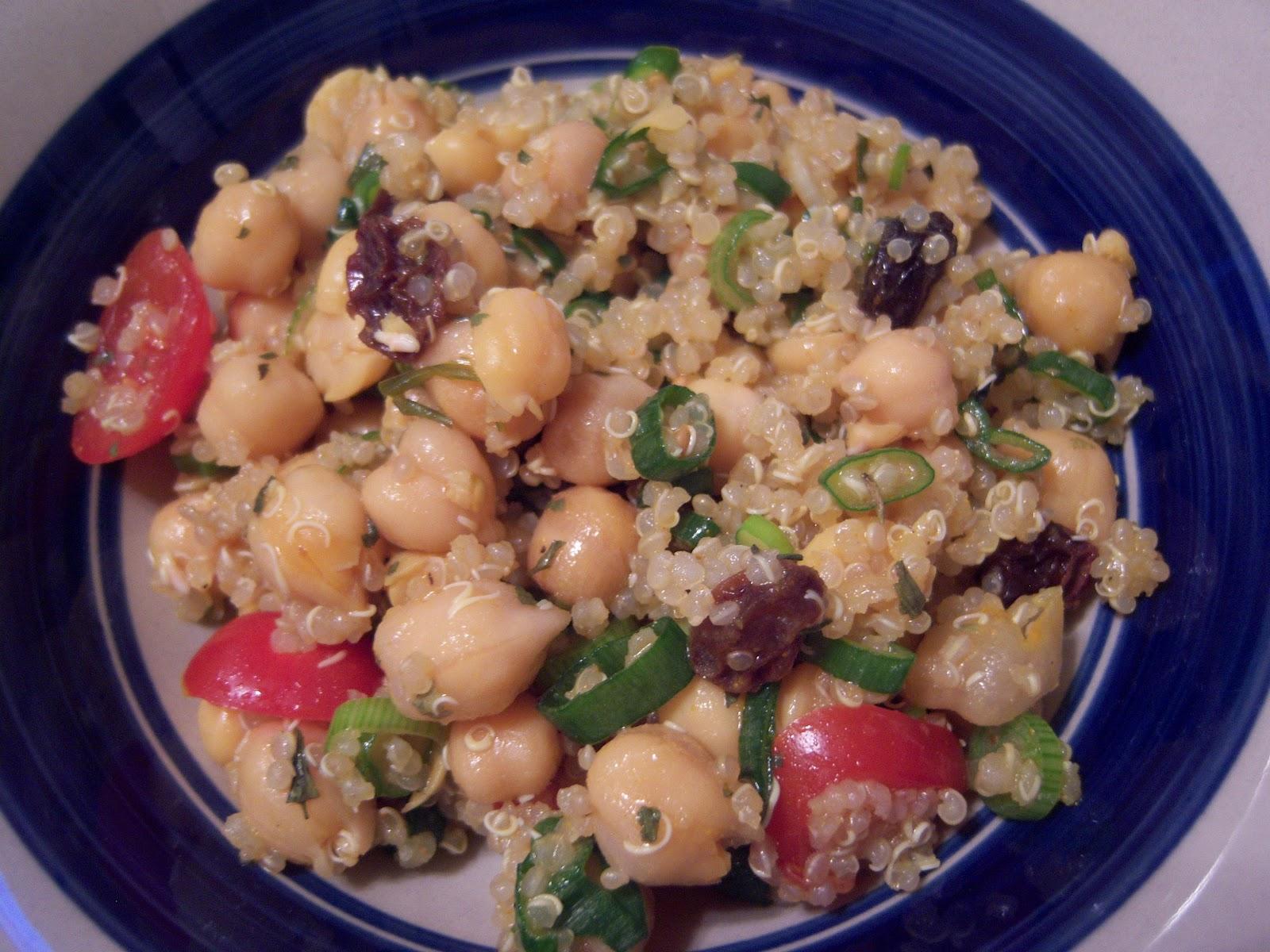 Easy quinoa chickpea salad | Jackie's kitchen