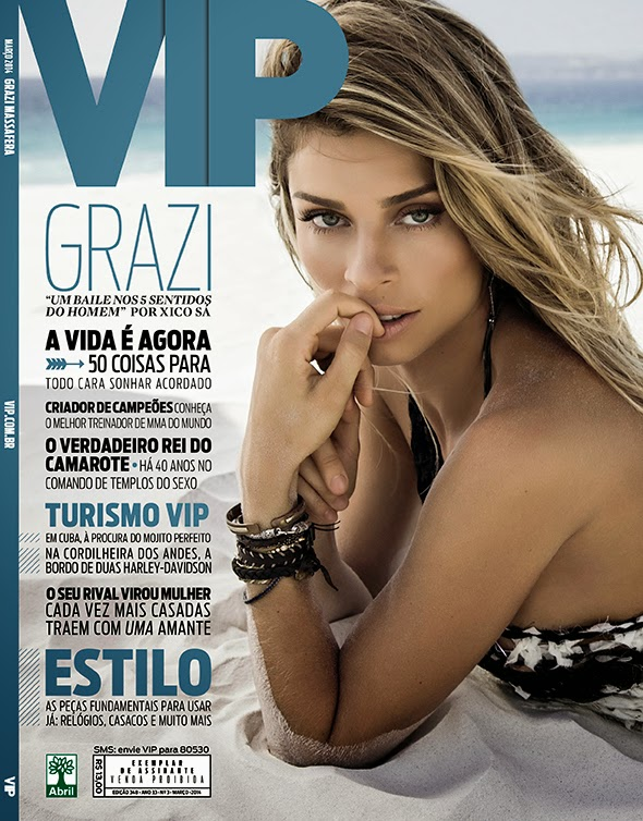 Grazi Massafera HQ Pictures VIP Brasil Magazine Photoshoot March 2014