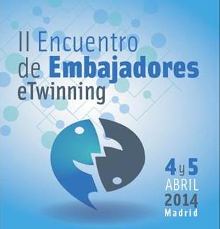Cartel del segundo encuentro de embajadores etwinning