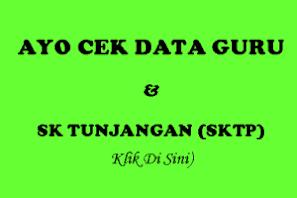 Cek Data Guru & SKTP 2015
