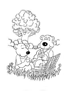 coloring pages free, bear coloring pages