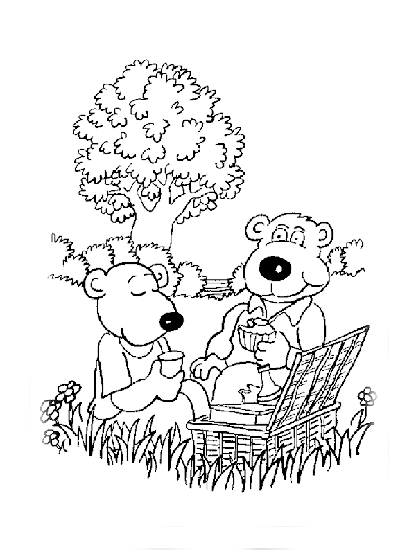 coloring pages free, bear coloring pages title=
