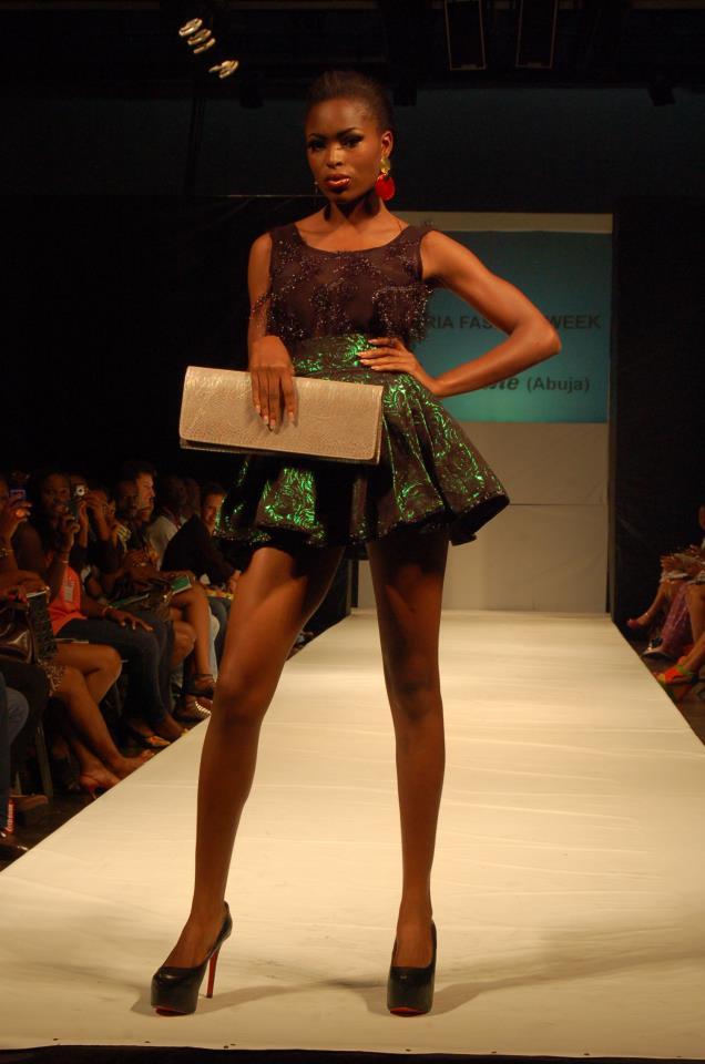 Nsuk Gossiplyn Nigeria Fashion Week 2012 Going Green Again