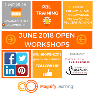 Check out our June 2018 Open Workshops!