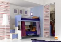 aprovechar espacio dormitorio infantil
