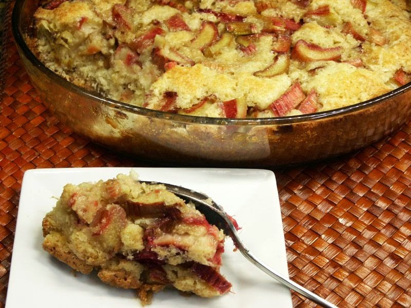 how to prepare and cook rhubarb