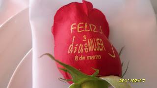 Rosa impresa por Fiori Bella Floristería y Decoraciones Cali, Colombia