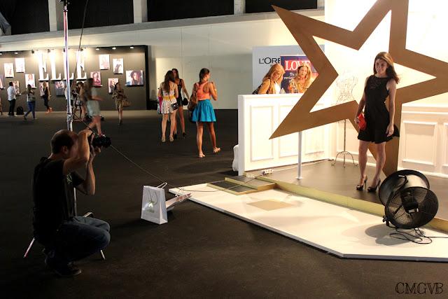 diana dazzling, fashion blogger, fashion, blog,  cmgvb, como me gusta vivir bien, MBFW, backstage, Glamour
