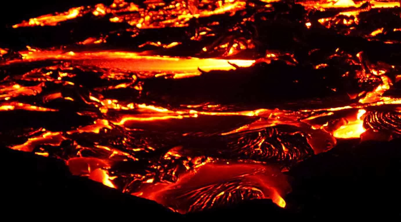 Lava y geologia