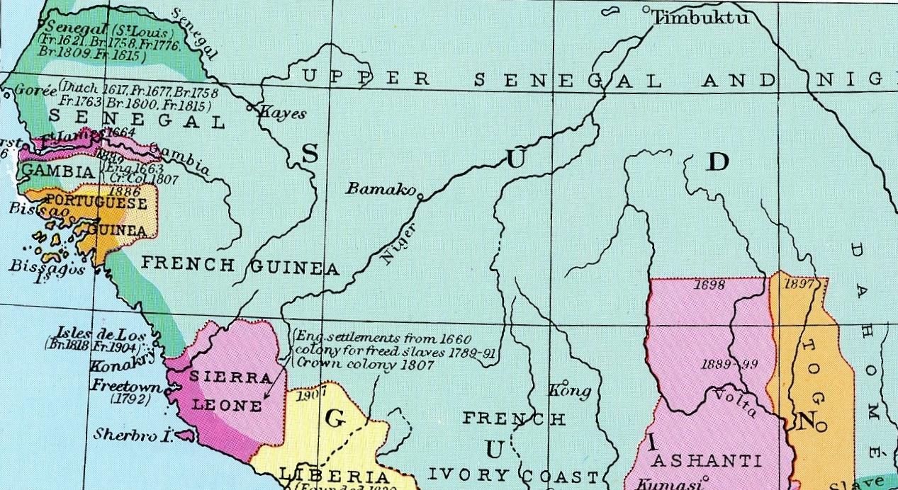 Big Blue 18401940 Sierra Leone