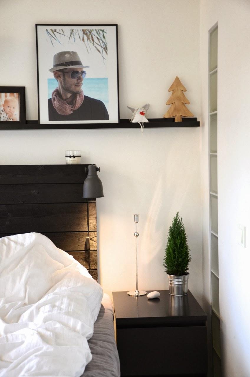 Living by Miriam: Vinterpynt i sovrummet