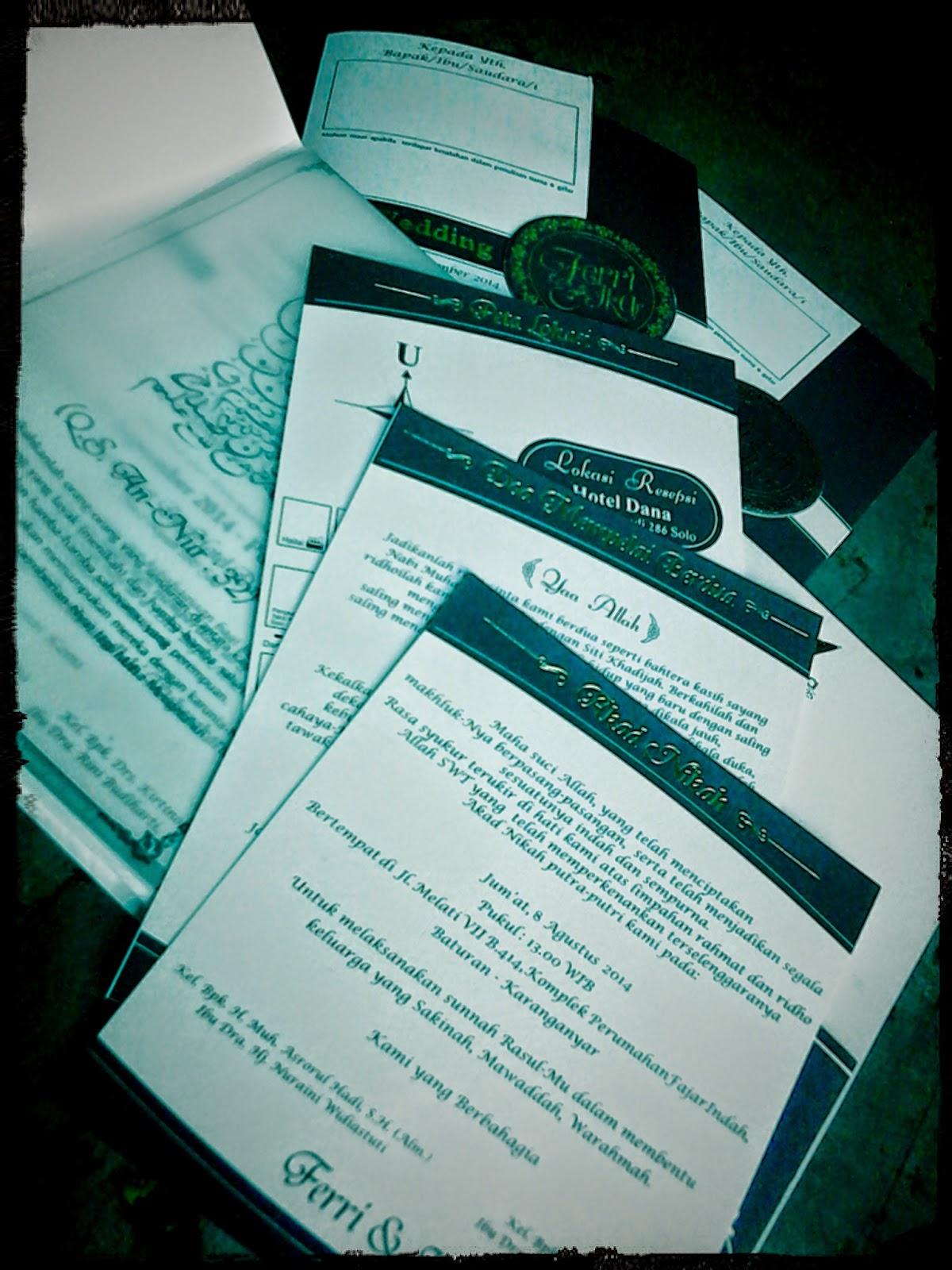 Undangan Pernikahan semihardcover (enha-SC078)