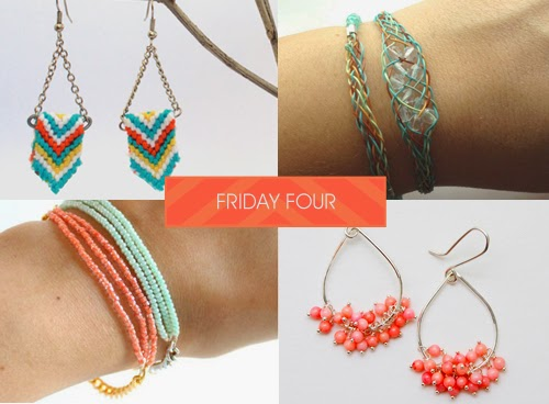 Softflexgirl friday four friendship earrings soft flex every friday i highlight some of my favorite do it yourself jewelry ideas found on pinterest for your weekend inspiration here are my picks this week solutioingenieria Choice Image