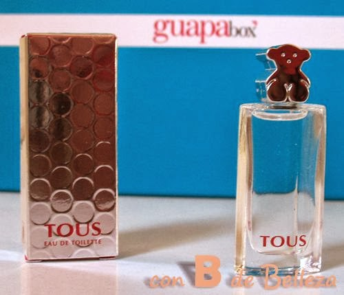 Miniatura de perfume Tous