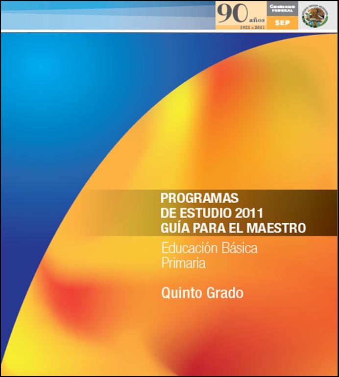 Programa de Estudios 2011 para Quinto Grado