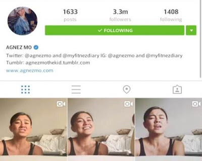Akun Instagram Agnes Mo Foto Seksi