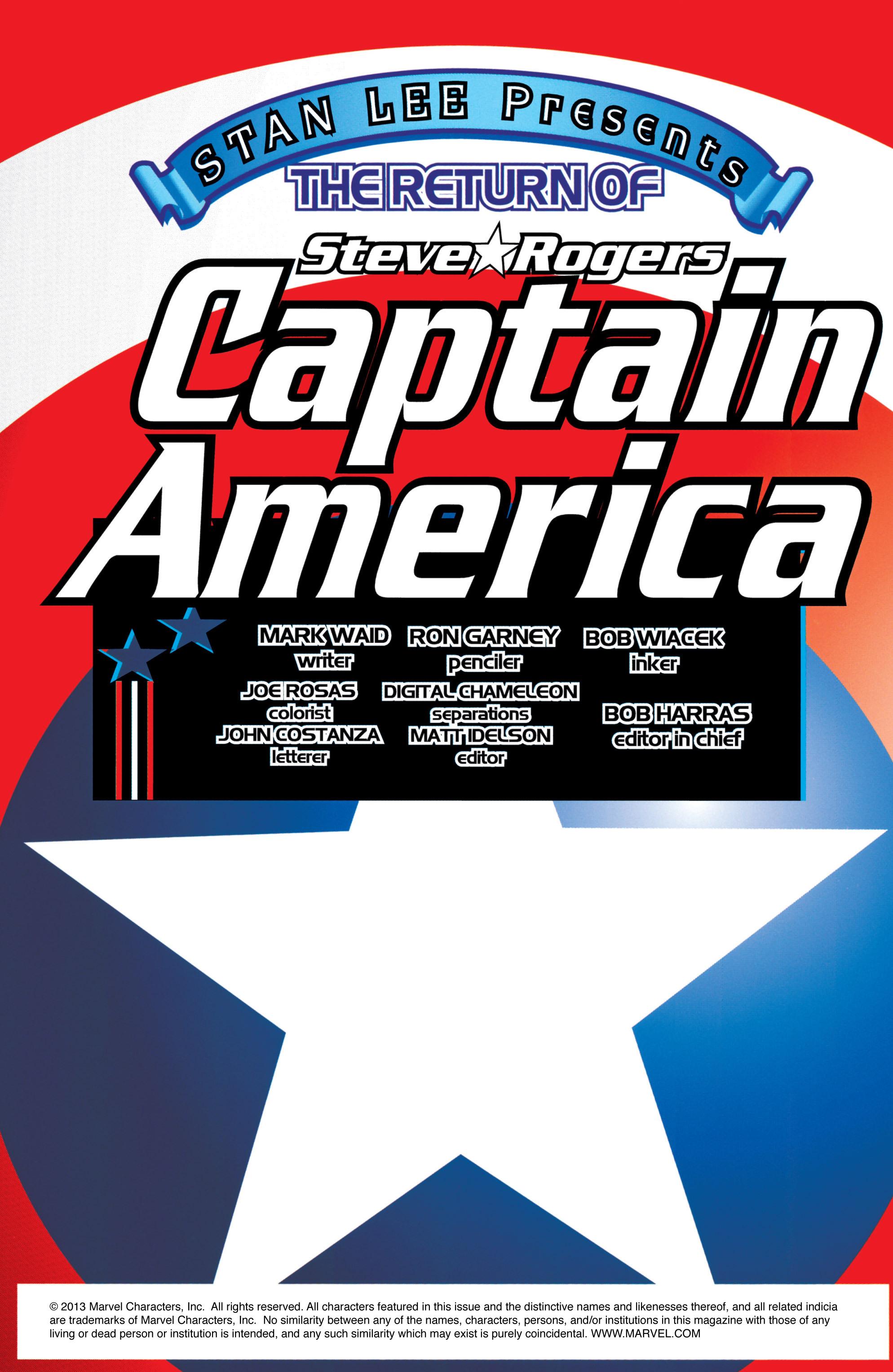 Captain America (1998) Issue #1 #4 - English 3