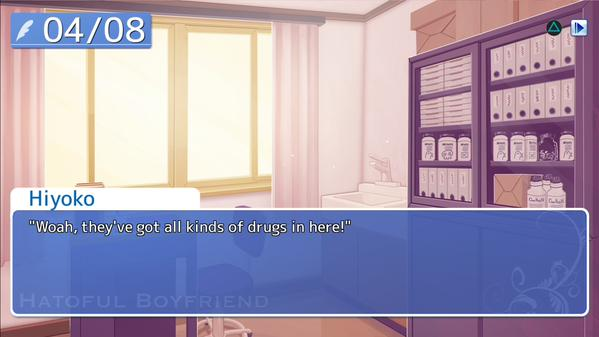 Visual novel on PlayStation 4