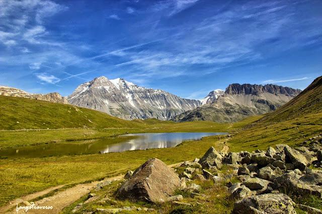 Randonnée accessible depuis le parking de Bellecombe, Savoie