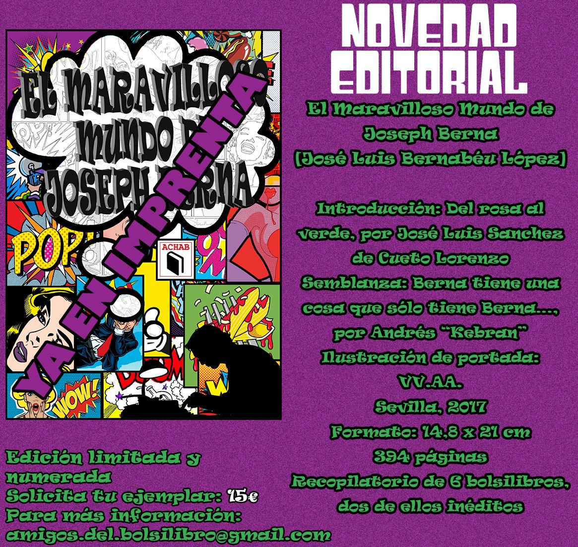 EL MARAVILLOSO MUNDO DE JOSEPH BERNA