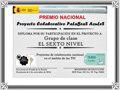 Premio Nacional.