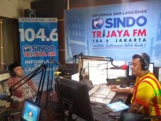 Bedah Buku Waris Islam di Radio Trijaya