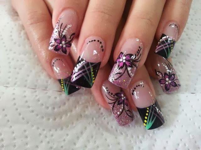 Uñas decoradas Diseño de uñas - decoraciones de uñas con gel ...