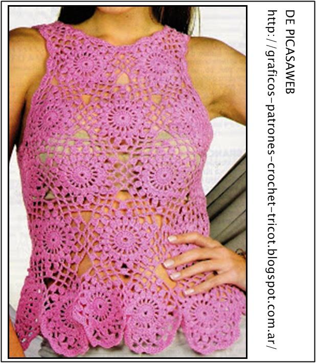 crochet fabric , CROCHET - GANCHILLO - PATRONES - GRAFICOS: TEMERITA ...
