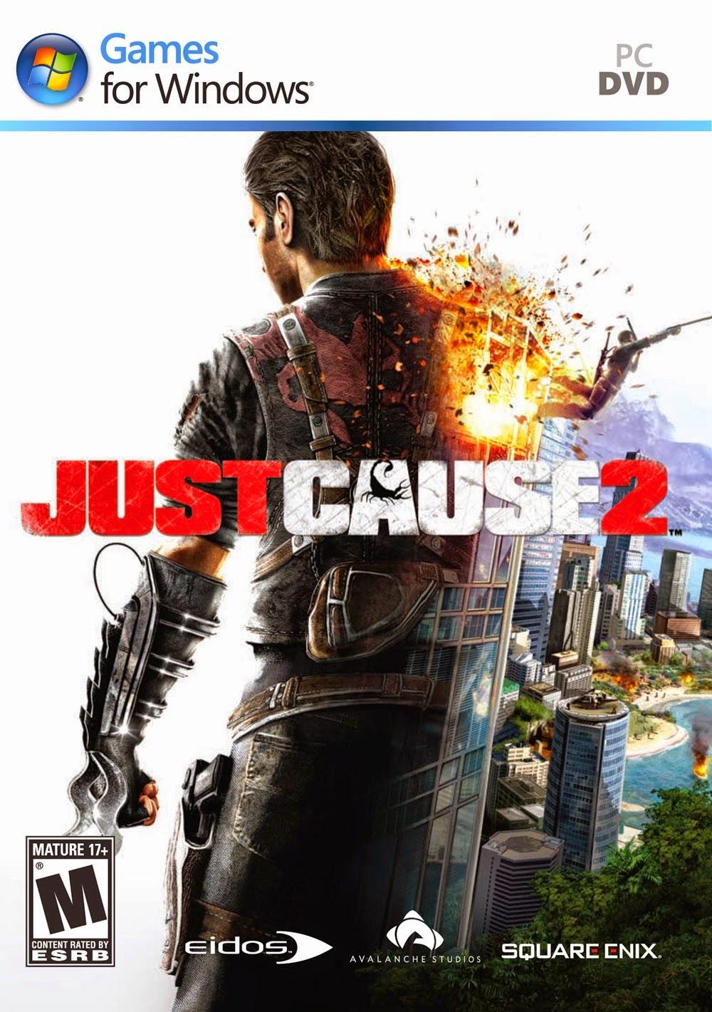 3- لعبة Just Cause 2 pc + جميع الاضافات (نسخة كاملة)