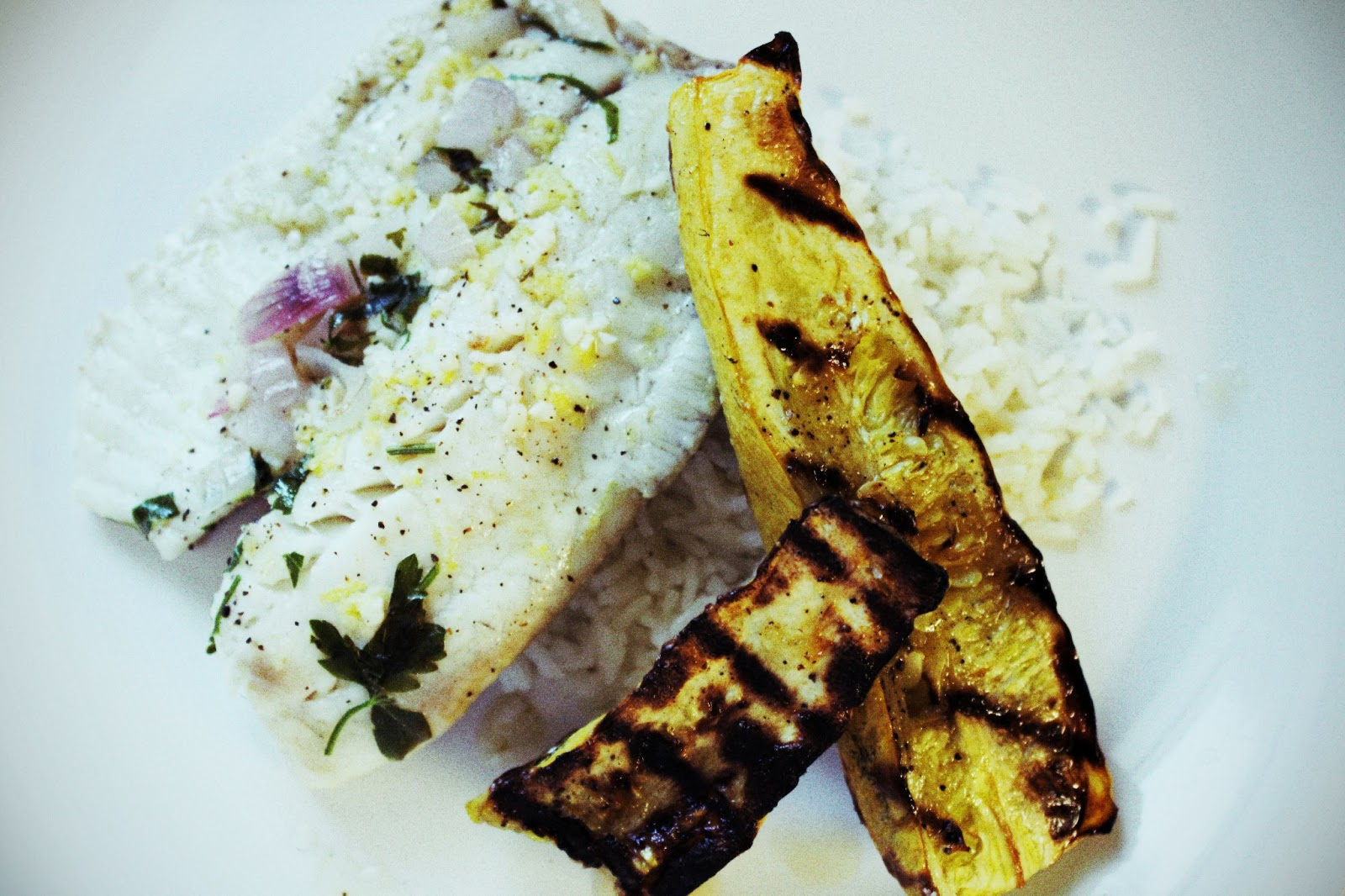 THE EVERYTHING + SOAP BLOG: Thai Inspired Grilled Tilapia and Squash