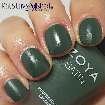 Zoya NYFW Satin Trio 2015 - Constance | Kat Stays Polished