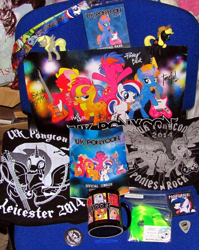 My haul from UK PonyCon 2014
