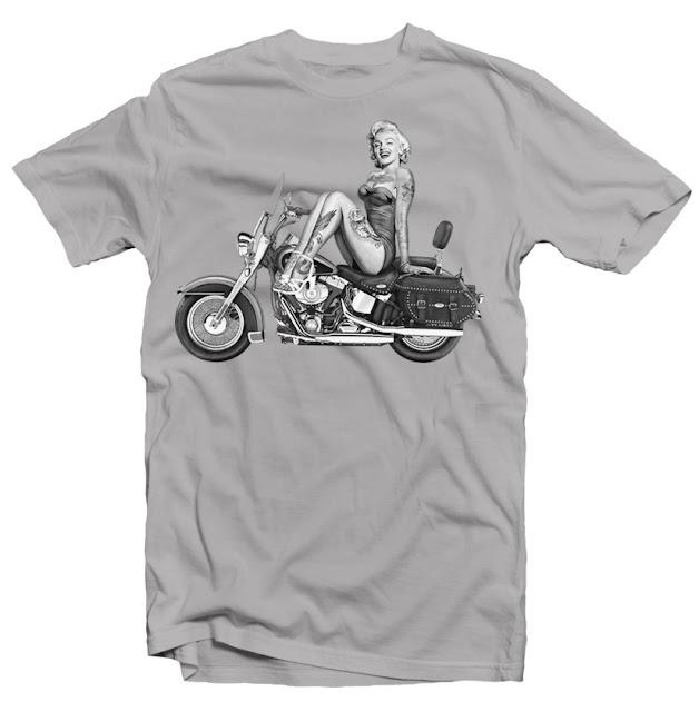 marylin tattoo tshirt designs