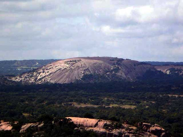 enchanted rock. UFOs and Enchanted Rock, Texas