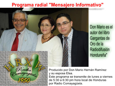 "Programa radial ""Mensajero Informativo"""