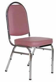 เก้าอี้จัดเลี้ยง เก้าอี้ประชุม เก้าอี้สัมมนา พนักพิงทรงตัวยู หรือที่เรียกว่าพนักพิงโค้งใหญ่
