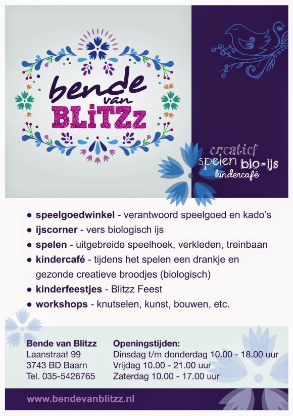 Bende van Blitzz - openings flyer