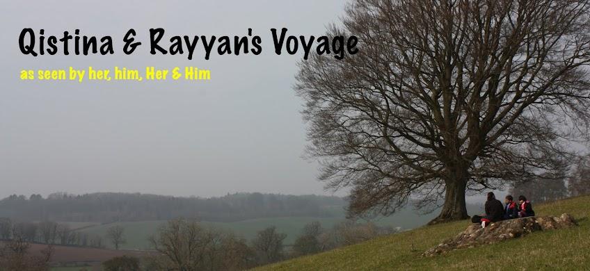Qistina & Rayyan's Voyage