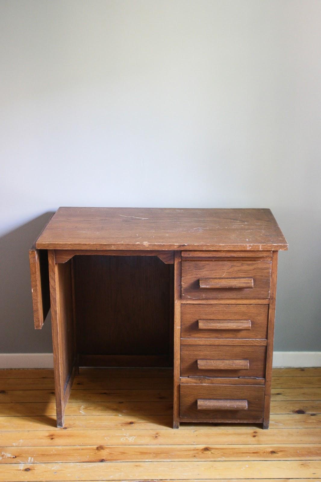 little vintage lovers l 39 avant apr s d 39 un bureau comptable. Black Bedroom Furniture Sets. Home Design Ideas