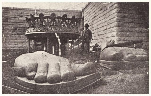 Statue Liberty NYC New York City assembly 1895 randommusings.filminspector.com