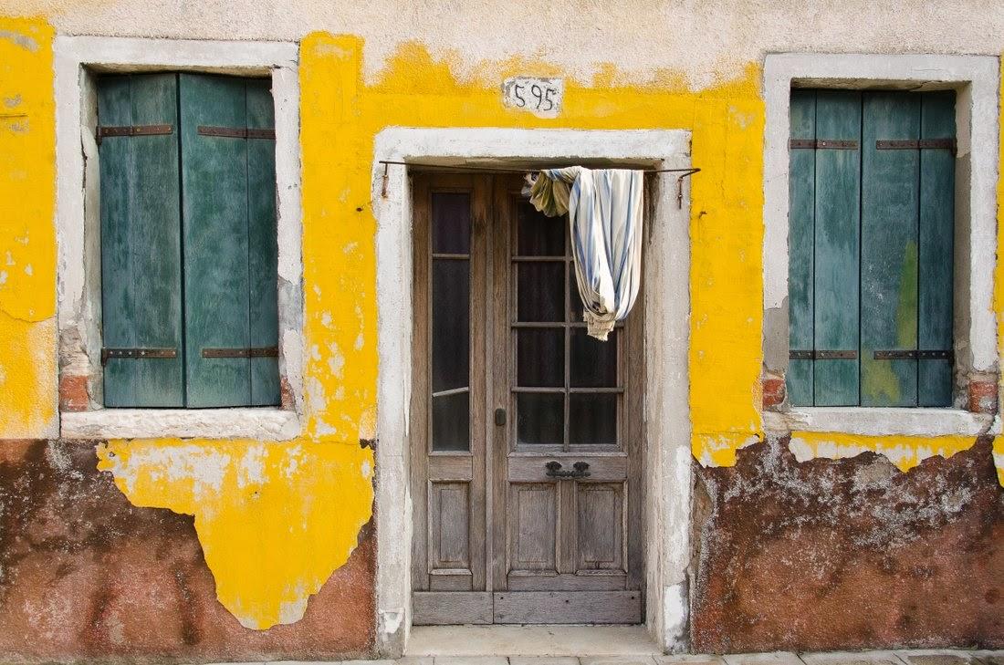 Burano - maison jaune