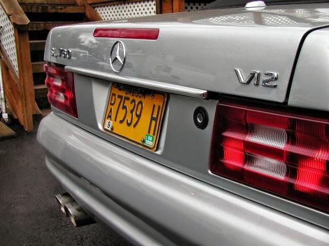 mercedes sl760 v12