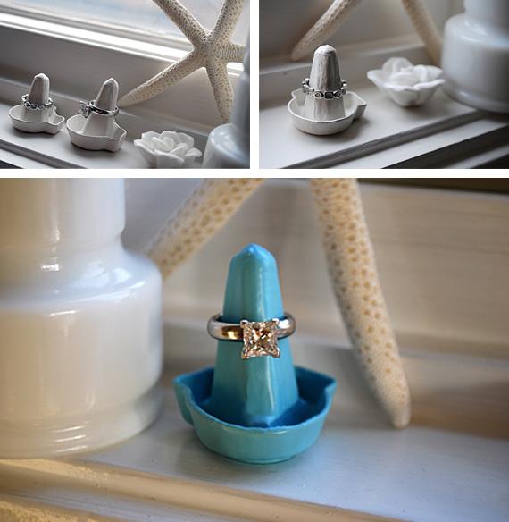 Arte y arquitectura m s ideas para organizar anillos - Manualidades para decorar el hogar paso a paso ...