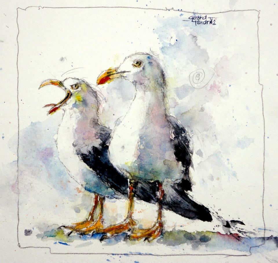 Four Elements Watercolour Artist Tuffytats: The Watercolour Log: Watercolour Paintings (7