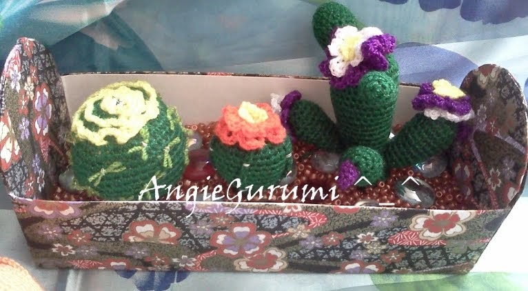 Amigurumi Maneki Neko Free Pattern : Amigurumi DIY by AngieGurumi: Amigurumi, Cactus diagramas ...