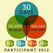 NaNoWriMo participant 2012